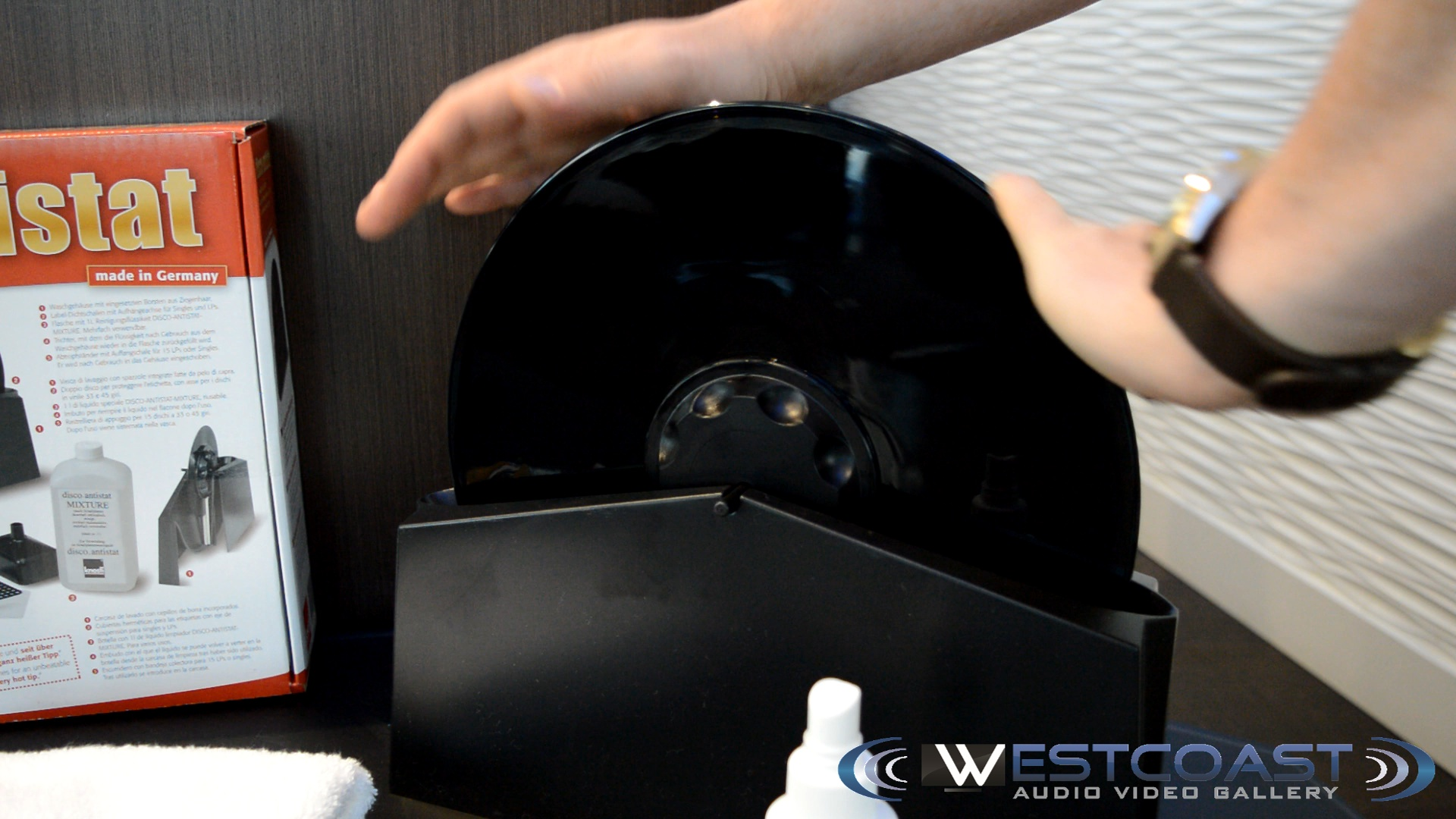 Knosti Disco-antistat record washer