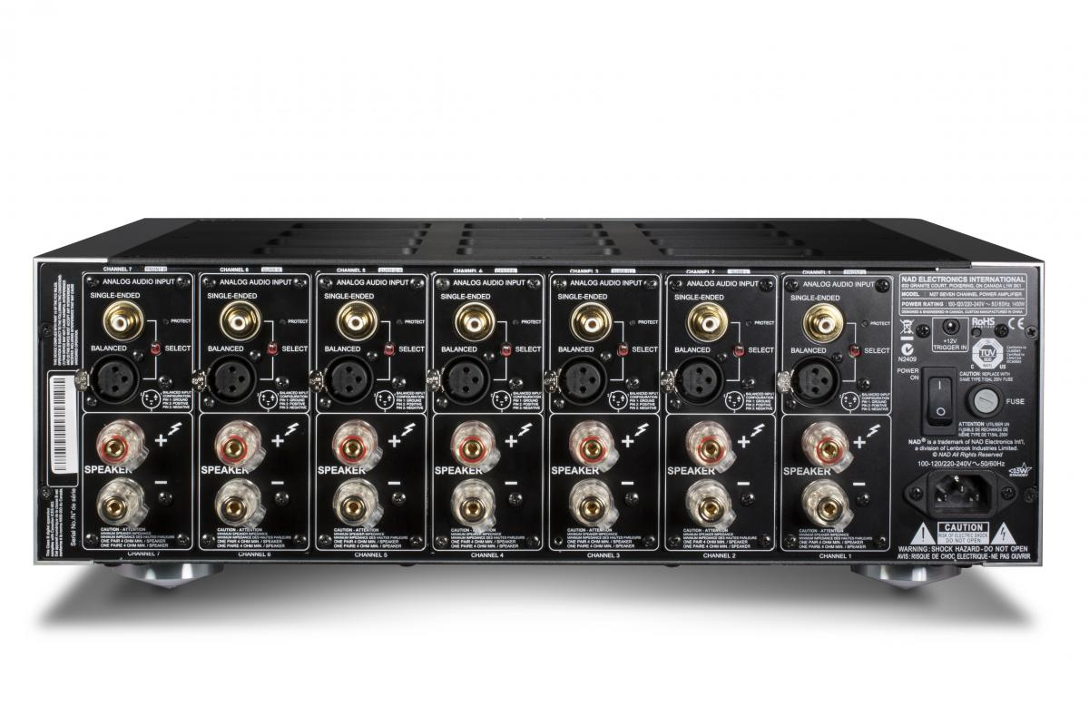 M27 Seven-Channel Home Theater Power Amplifier