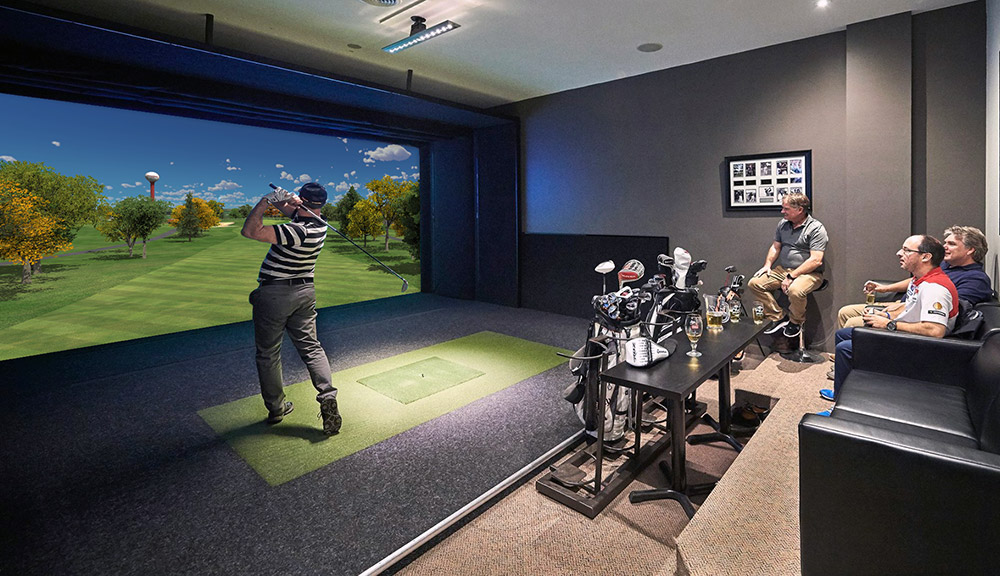 golf in your home
