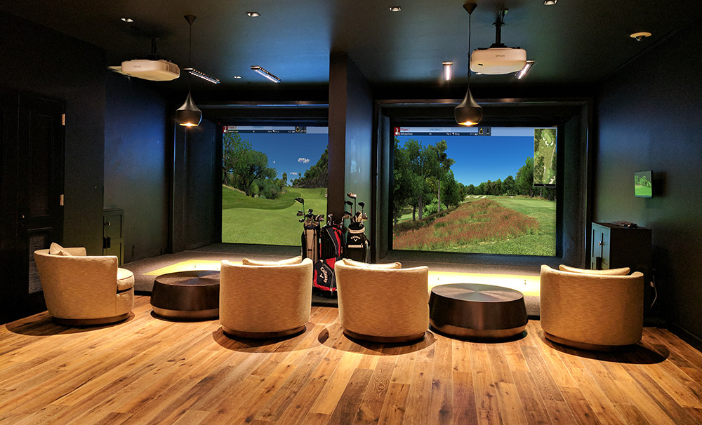 golf range in your bar or business.