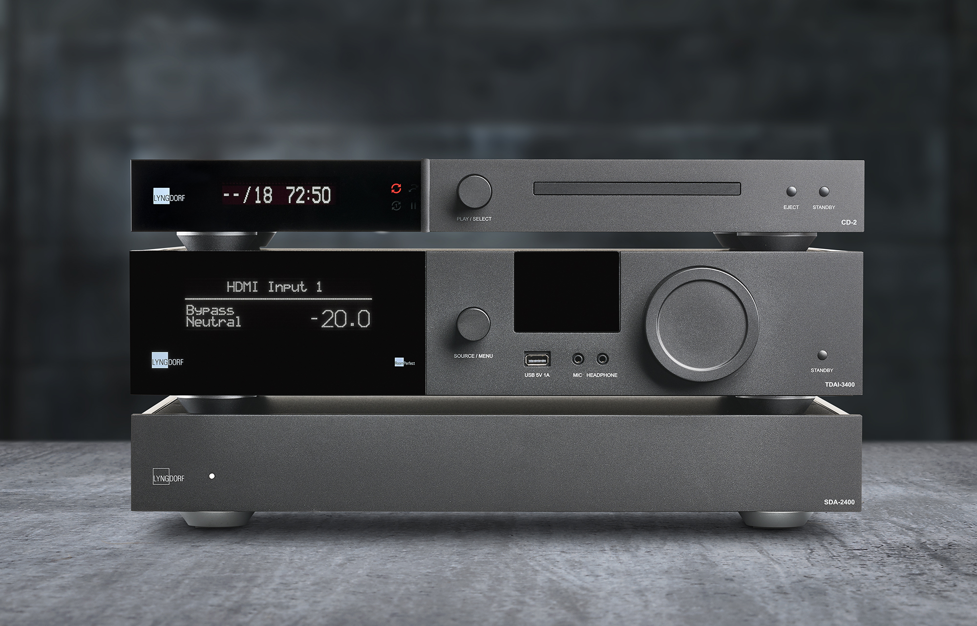 Lyngdorf Audio TDAI-3400 Integrated Amplifer